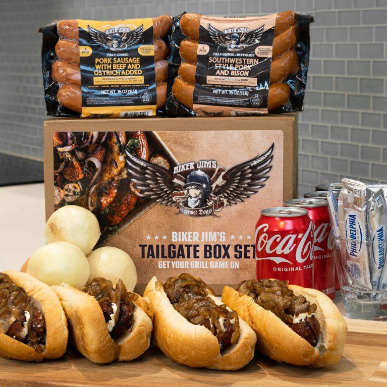 Biker Jims Gourmet Dog BBQ Tailgate Box