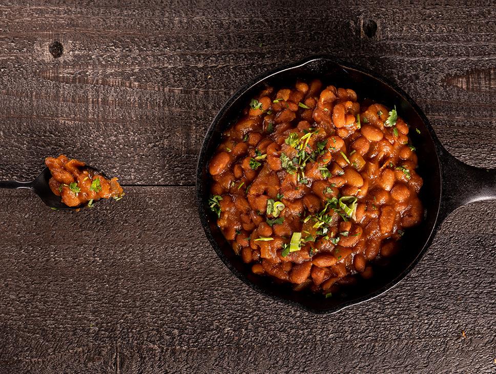 Biker Jims baked beans